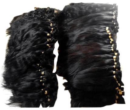 raw hair material