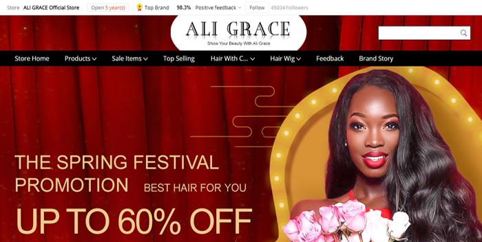 Ali Grace Official Website