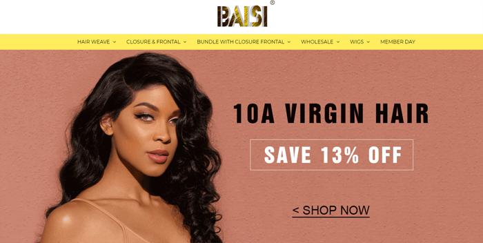 baisi hair website