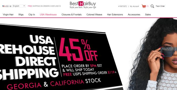 best hair buy website