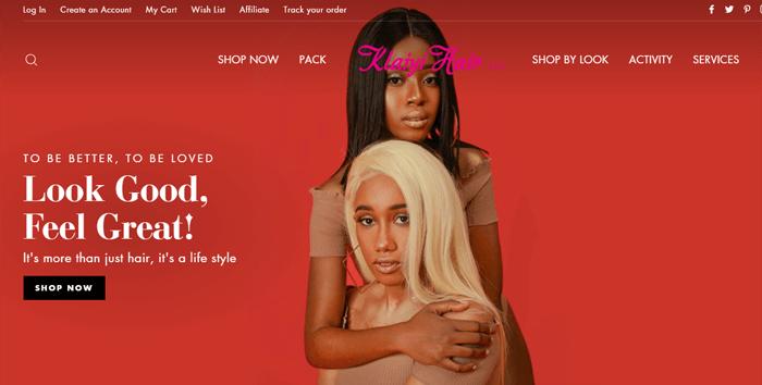 Klaiyi Hair Official Website