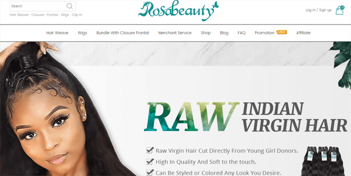Rosa Beauty Official Website