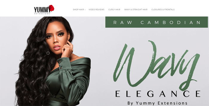 yummy extensions website