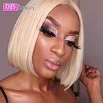 Blonde Lace Front Wig Brazilian 613 Short Bob 13x6 Lace Front Remy Human Hair Wigs For Black Women 613 Lace Front Wig