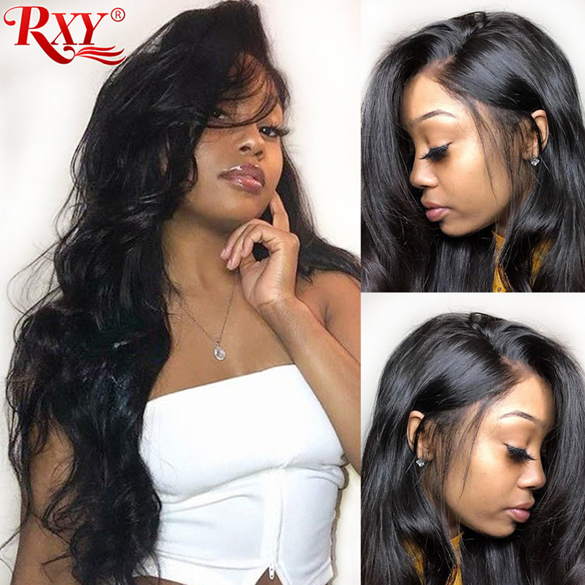 RXY 360 Lace Frontal Wig Pre Plucked With Baby Hair 250 Density Lace Wig