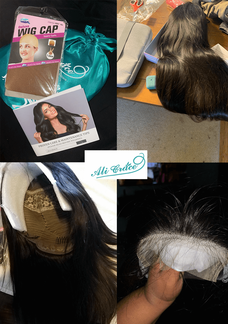 ali grace hair real products