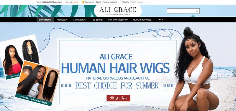 ali grace office store