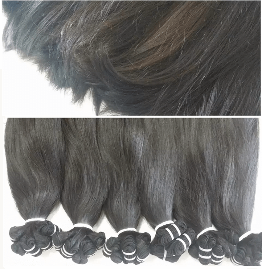 human hair remy material