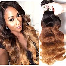 Brazilian Ombre Hair Body Wave 3 Bundles
