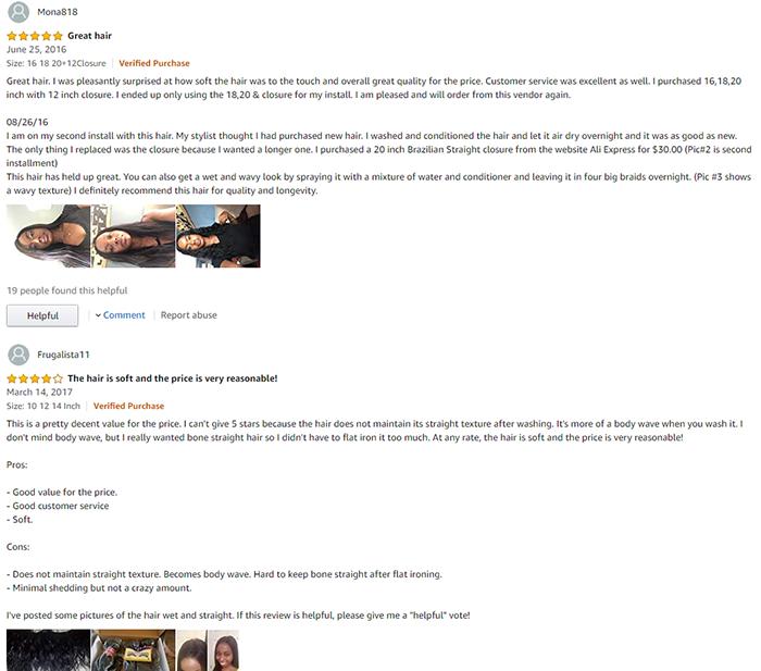 nadula hair customer reviews