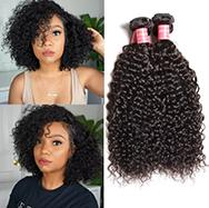 Julia 3 Bundles Malaysian Curly Weave Human Hair Weave Virgin Malaysian Hair