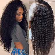 Julia Curly Lace Front Human Hair Wigs With Pre Plucked Best Brazilian Human Hair Wigs For Women