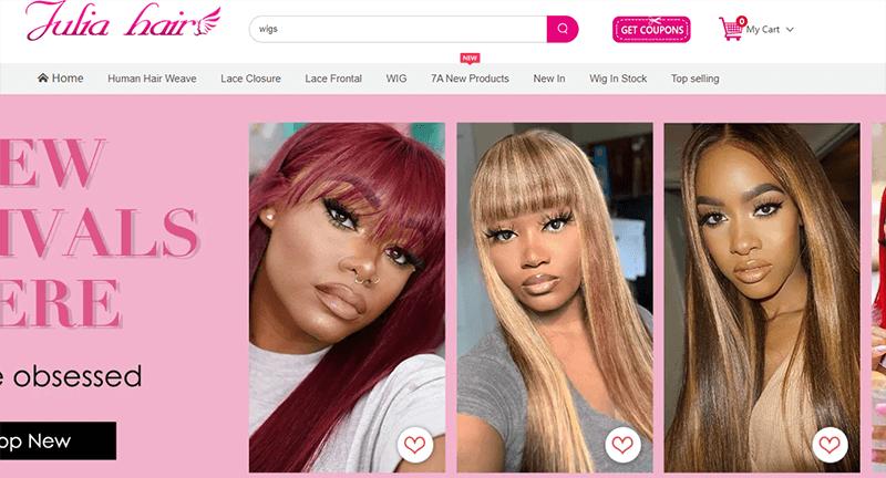 julia hair offical website