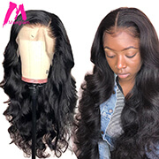 360 lace frontal wig body wave short front human hair wigs brazilian long pre plucked with baby hair for black women hd remy