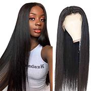 12a Grade Brazilian Straight Lace Front Wigs 100% Virgin Human Hair C002