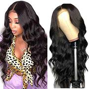 Ali Grace Brazilian Body Wave Lace Front Wigs For Women 12A Body Wave Virgin Human Hair Lace Wigs