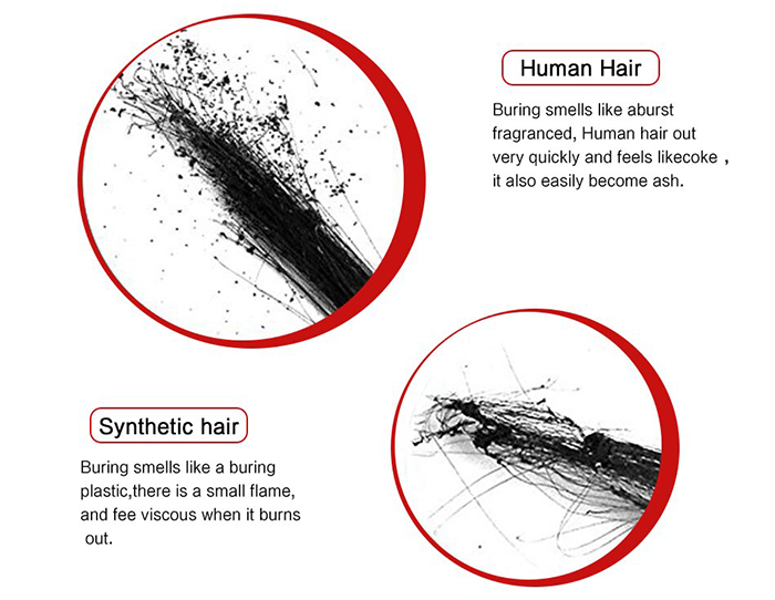 how to know if the hair is real human hair
