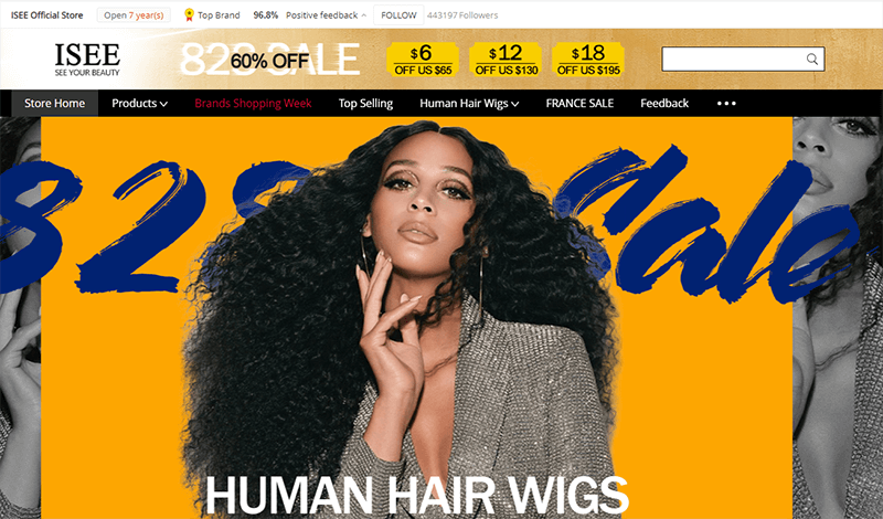 isee hair official store
