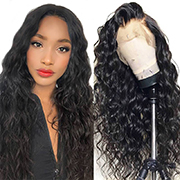 Ali Grace Peruvian Loose Wave Human Hair Lace Front Wigs 250% Density 360 Lace Frontal Wigs Pre-plucked with Baby Hair