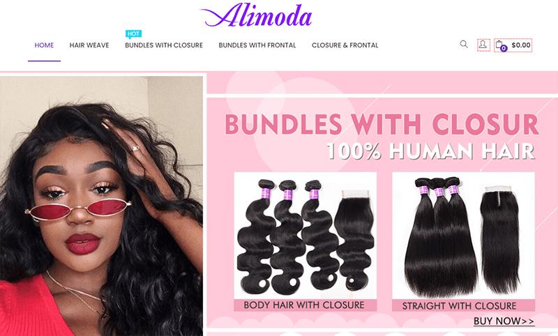 alimoda hair website