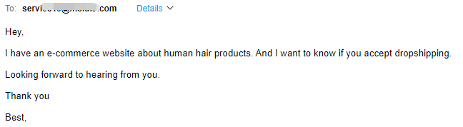 email to ms lula hair company