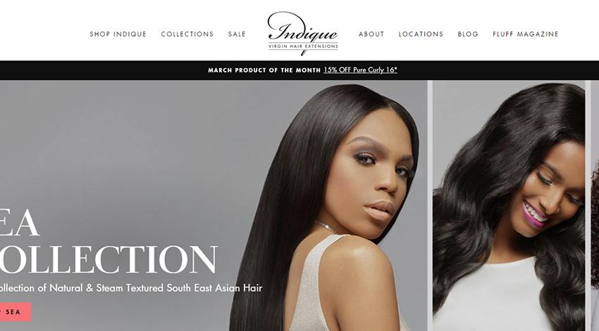 indique hair website