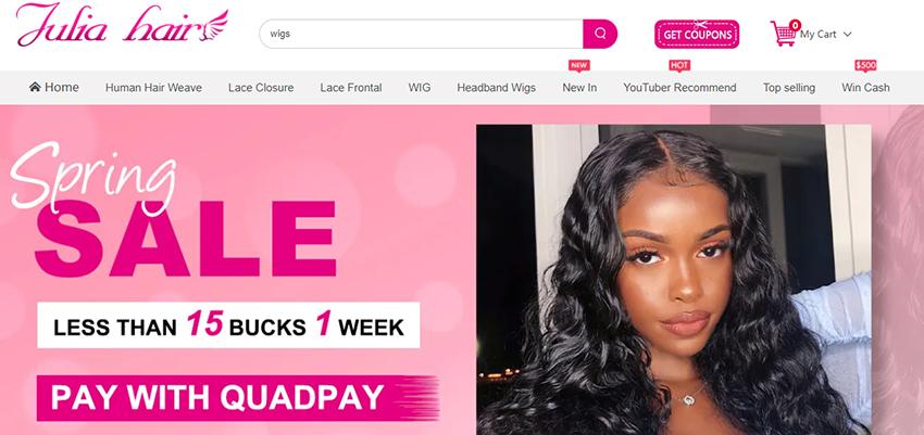 julia hair website