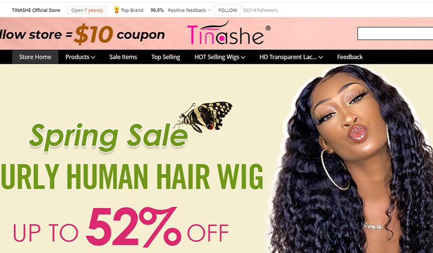 Tinashe hair website